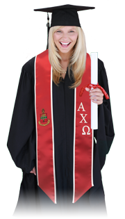 Pride Sash Graduation Stoles Greek Stoles And Pageant Sashes