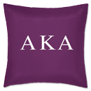 Fraternity Greek Pillow